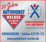Autodienst Wecker